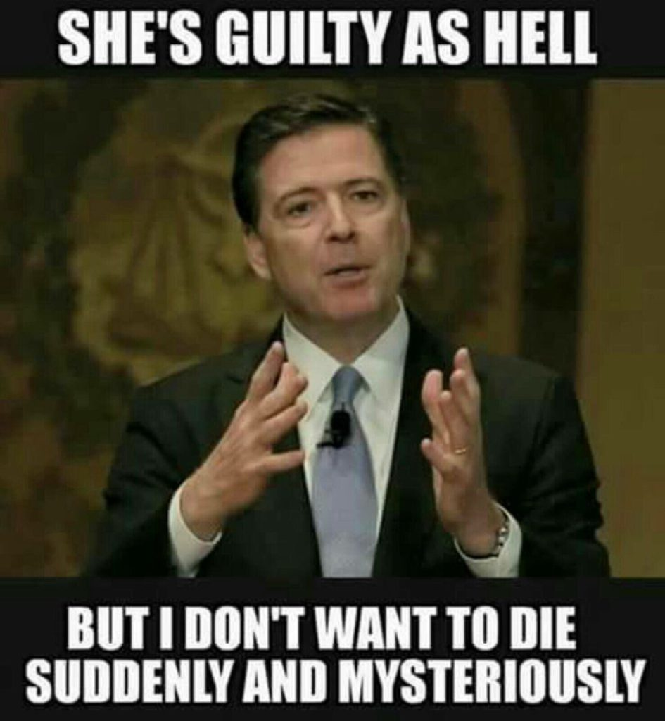 comey guilty as hell but